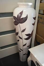 White Ceramic Floor Vase 10 Decorative Giant Floor Vases Rilane