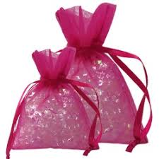 pink organza bags organza bags