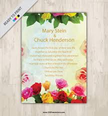Designs For Invitation Cards Free Download 260 Wedding Invitation Templates Vectors Download Free Vector