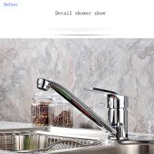 classic kitchen faucets dofaso and cold water classic kitchen faucet space aluminum