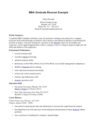 Resume Objective Examples For Students by Mba Career Objective For Resume Free Resume Example And Writing