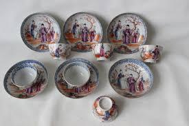 mandarin porcelain famille mandarin porcelain cup and saucers china late