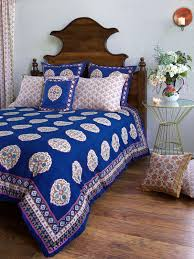 moroccan duvet cover bohemian blue saffron marigold