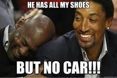 Michael Jordan Shoe Meme - people line up for jordans but would they line up for education