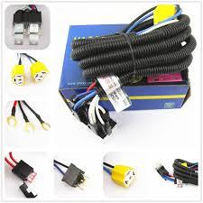 oem ceramic h4 headlight relay wiring harness 2 headlamp light