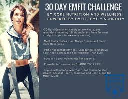 Challenge Emily 30 Day Emfit Challenge Crossfit Vantage Unleashed Fitness Llc