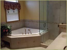 corner bathtub shower combo bathok