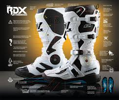 yamaha motocross boots oneal rdx motocross boots black dirtbikexpress