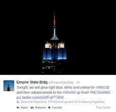 empire state building lights tonight photos empire state building shines blue and white to honour