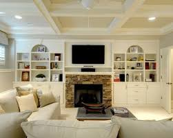 stylish built in bookcases around fireplace m23 about home