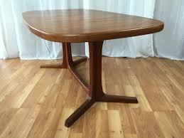 niels moller teak dining table with leaves sold past perfect