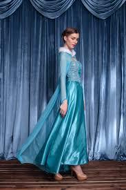 Halloween Elsa Costume Halloween Party Frozen Elsa Costume Dress Ice Queen Cosplay