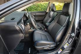 toyota corolla seats 2017 toyota corolla reviews and rating motor trend
