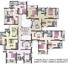Loft Apartment Floor Plans Apartment Complex Floor Plans Floordecorate Com