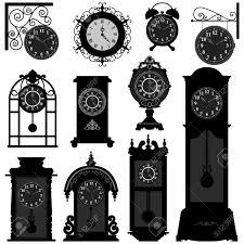 Grandpa Clock Clock Time Timepiece Antique Vintage Ancient Classic Old