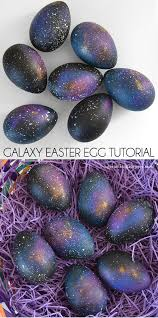 faux easter eggs galaxy easter egg tutorial a bigger