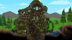 Terraria Maps Starbound Lovely House Terraria And Starbound Pinterest