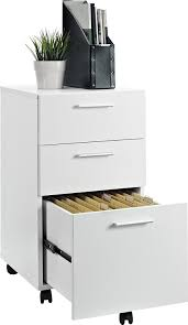 File Dividers For Filing Cabinet Amazon Com Ameriwood Home Princeton Mobile File Cabinet White