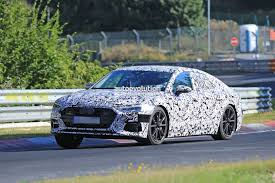 2018 audi s7 laps nurburgring early reveals serious performance