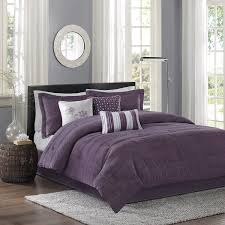 Plum Bed Set Park Hton 7 Comforter Set