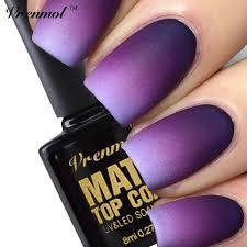 buy vrenmol 1pcs cleaning matt top coat nail gel polish long