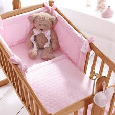 Nursery Cot Bed Sets by Baby Crib Bedding Set In Marshmallow Design Unique Baby Gifts Cuck