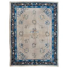 Shabby Chic Area Rugs Antique Chinese Beijing Area Rug Vintage Shabby Chic Invnr Dg
