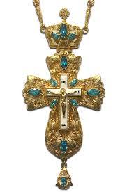 pectoral crosses everlasting aquamarine jeweled pectoral cross nevsky s books