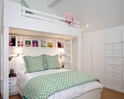 Twin Over Queen Bunk Bed Houzz - Queen bed with bunk over