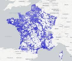 carte de de la couverture mobile chroniques cartographiques