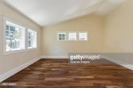 wooden floor in empty bedroom stock photo getty images