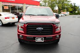 ford truck red 2015 ford f150 xlt red used 4x4 truck sale