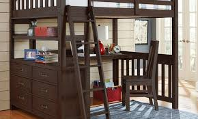 High Sleeper With Futon And Desk Futon Bunk Bed With Futon And Desk Amiable High Sleeper Study