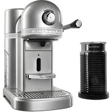 Kitechaid Kitchenaid Nespresso 5 Cup Espresso Machine And Milk Frother