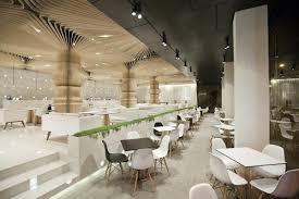 Modern Cafe Interior In Interior Design - Modern cafe interior design
