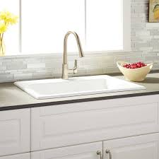 Ayeshire Cast Iron DropIn Kitchen Sink Kitchen - Kitchen sink cast iron
