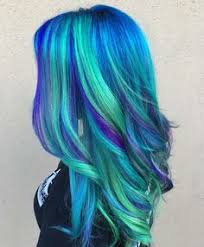 21 blue hair ideas u0027ll love bright hair teal orange