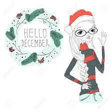 imagenes hola diciembre hola diciembre ilustración colorida con un hola diciembre tipografía