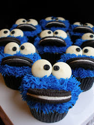 Cookie Monster Baby Shower Decorations Cookie Monster Cupcakes Cake Ideas Pinterest Cookie