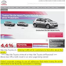 toyota car recall crisis toyota how to commit brand and reputation