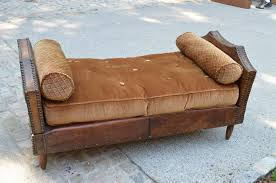 vintage bamboo daybed wooden global