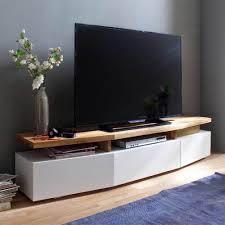 Hifi Wohnzimmer Design Tv Unterschrank In Weiß Eiche Lackiert Jetzt Bestellen Unter