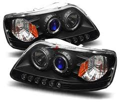2001 Ford F150 Tail Lights Car Parts Projector Headlights Ford F150 1997 1998 1999 2000 2001