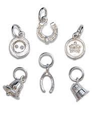 silver charms decore