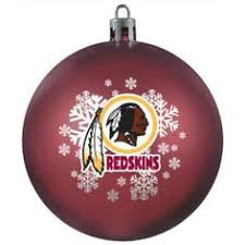 personalized washington redskins ornament ornament image