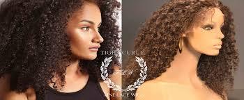 tight curly natural wigs fine wigs