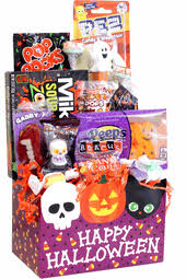 halloween candy gift baskets gift ideas and spooky candy filled