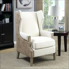 tufted wingback dining chair in margo linen fabric tufted wingback