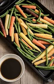Oven Roasted Root Vegetables Balsamic - balsamic roasted carrots and green beans paleo leap