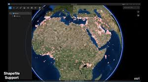 World Map Shapefile Esri by Arcgis Earth Demo The Middle East U0026 North Africa Esri User